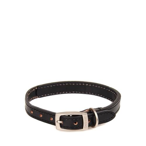 Barbour Collar Leather Black