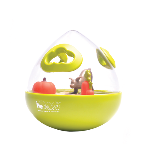 PLAY Wobble Ball Green Toy