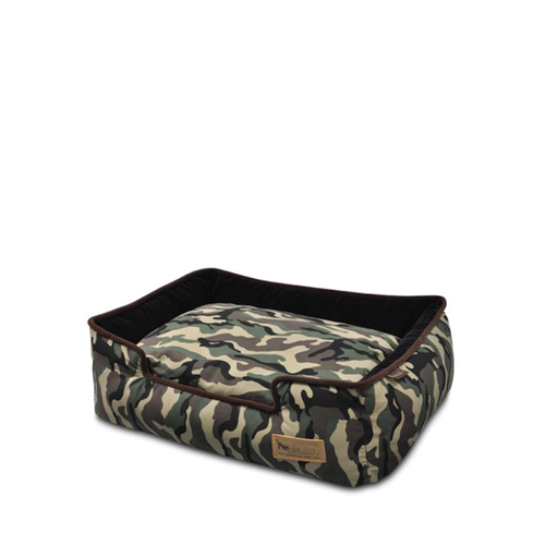 PLAY Lounge Bed Camouflage Green