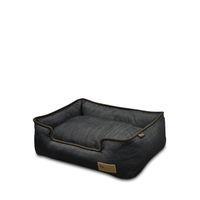 Lounge Bed Denim Chocolate