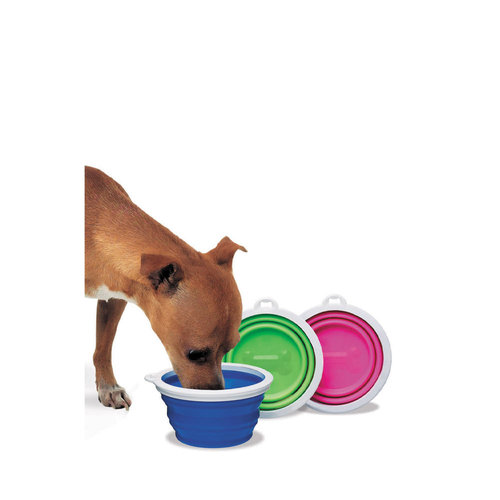Petmate Collapsible Travel Bowl 1 cup