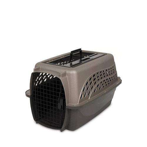 Petmate 2-Door Top Load Crate Tan 24 in