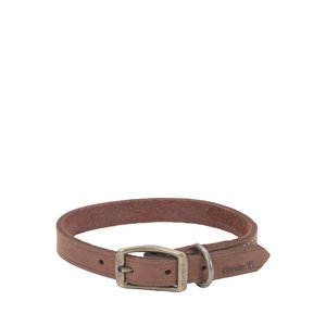 Coastal Pet Collar Leather Town Brown