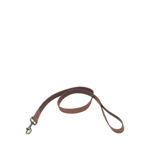 Coastal Pet Leather Leash Rustic Brown