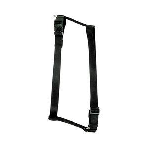 Coastal Pet Harness Adjustable Solid Nylon Black