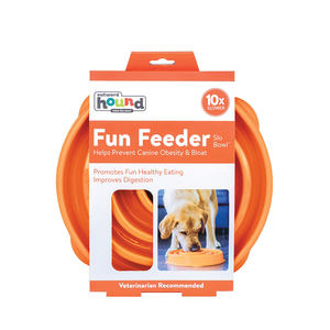 Outward Hound Slow Feeder Orange