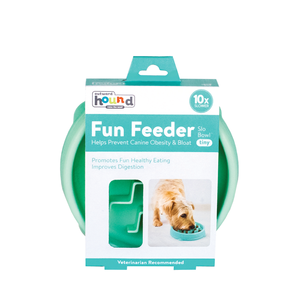 Outward Hound Slow Feeder Mint Tiny