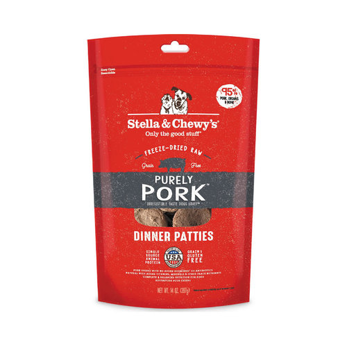 Stella & Chewy's Dog Freeze Dried Pork 14oz