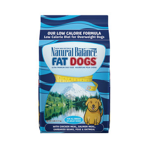 Natural Balance Dog Fat Dogs Chicken and Salmon