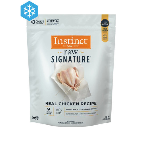 Instinct Cat Frozen 95% Bites Chicken 1.25lb