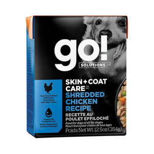 GO! Dog Skin&Coat Chicken Tetra 354g