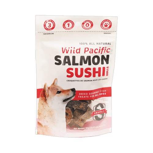 Snack 21 Dog Salmon Sushi 36g