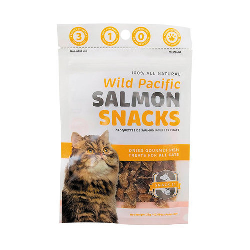 Snack 21 Cat Salmon Snacks 25g
