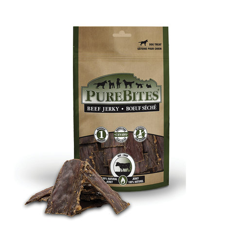 Pure Bites Dog Treat Beef Jerky 213g