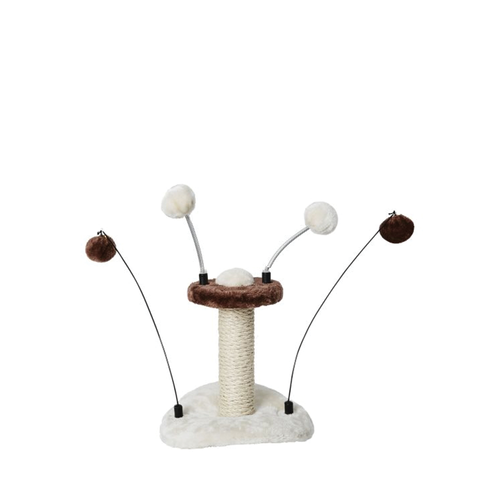 Budz Cat Mini Tree Toy Pompoms