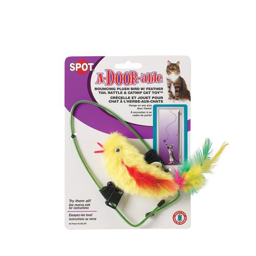 SPOT A-Door-Able Plush Bird Cat Toy