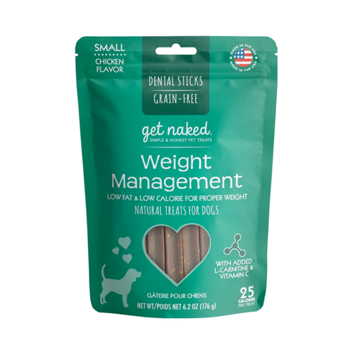 Other Get Naked Dog Weight Management Dental Sticks Small 176g