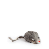 Amazing Pet Cat Real Fur Mouse With Squeaker