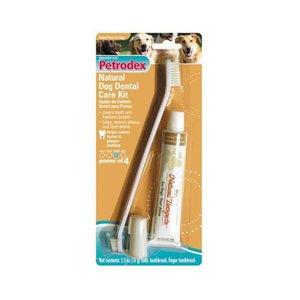 Petrodex Natural Toothbrush/Toothpaste Kit 2.5oz