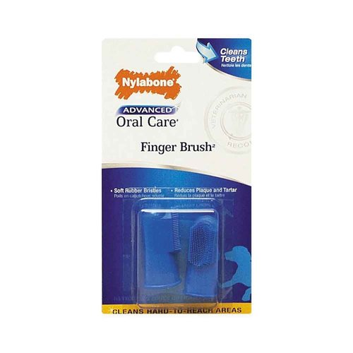 Other Nylabone Advance Toothbrush Finger 2 pack