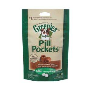 Other Greenies Dog Pill Pocket Peanut Butter Tablets 3.2oz
