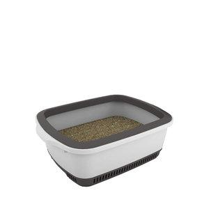 Cateco Cat Litter Box Gray