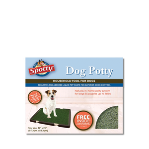 Spotty Training Training Pee Grass