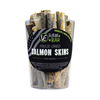 Raw Bar Freeze-dired Salmon Skin