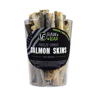 Raw Bar Freeze-dired Salmon Skin