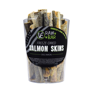 Vital Essentials Raw Bar Freeze-dired Salmon Skin