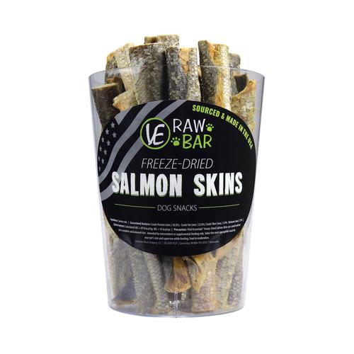 Vital Essentials Raw Bar Freeze-dired Salmon Skin
