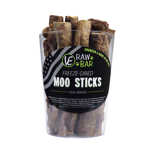 Vital Essentials Raw Bar Freeze-dried Moo Stick
