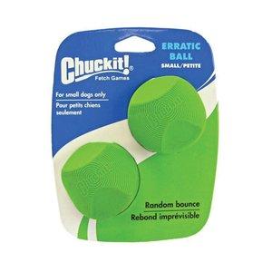 Chuckit Erratic Ball Small 2 pack