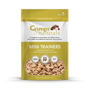Crumps Mini Trainers Freeze Dried Beef 50g