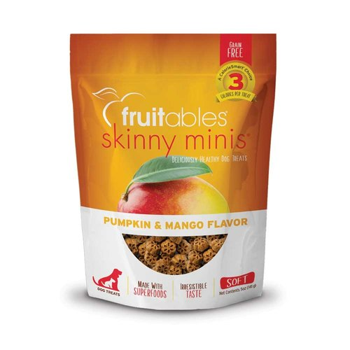 Fruitables Skinny Minis Pumpkin/Mango Soft Treats 5oz