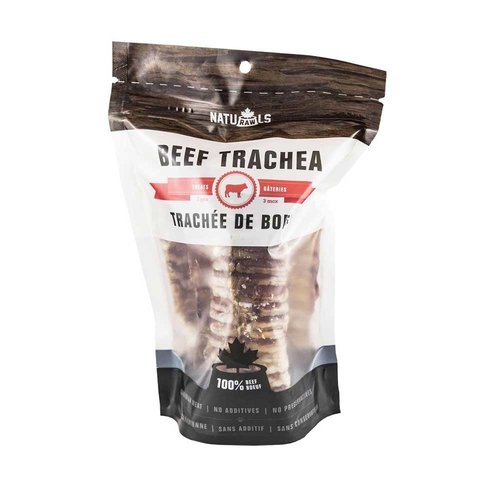 Naturawls Beef Trachea 5in 3pk