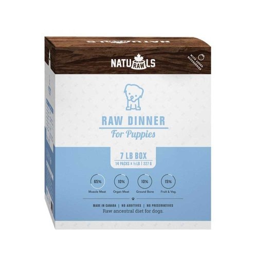 Naturawls Dog Turkey/Beef Puppy 7lb