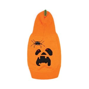 Funky Tails Halloween Sweater Dog Pumpkin