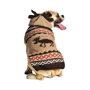 Chilly Dog Sweater Moosey Hoody