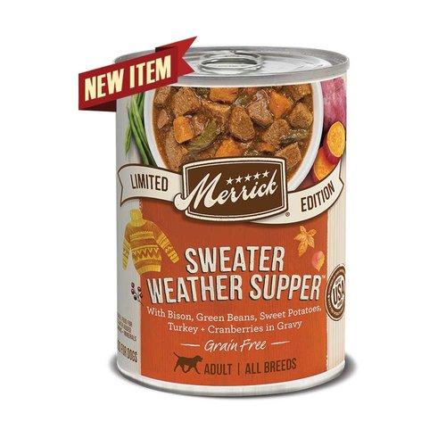Merrick Dog GF Stew Sweater Weather 12.7oz