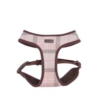 Harness Taupe/Pink Tartan