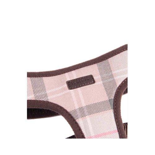 Barbour Harness Taupe/Pink Tartan