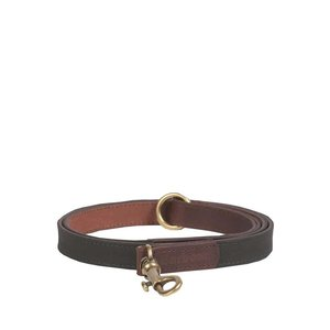 Barbour Leash Waxed Leather Olive