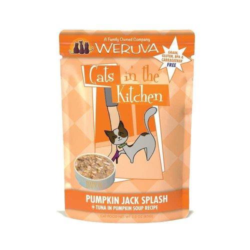 Cats in the Kitchen Pumpkin Jack Splash Pouch 3oz