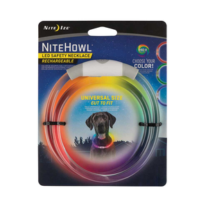 Niteize NIteHowl LED Safety Necklace Disco Rechargeable