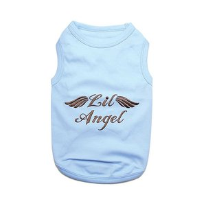 Parisian Pet T-Shirt Lil Angel Blue