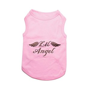 Parisian Pet T-Shirt Lil Angel Pink