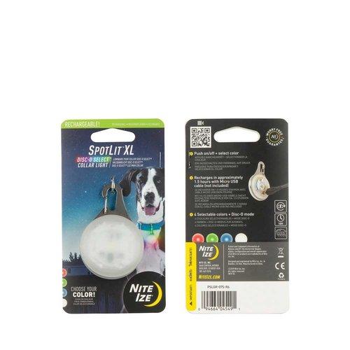 Niteize Spotlit LED Collar Light XL Rechargeable
