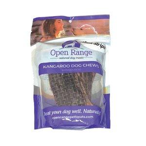 Open Range Kangaroo Chews Steak Strips 100g