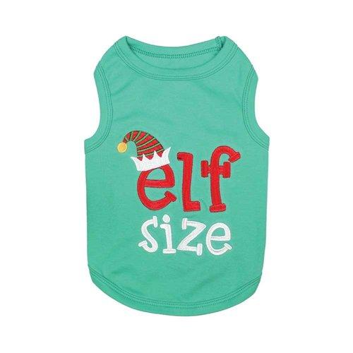 Parisian Pet T-Shirt Christmas Elf Size